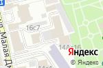 Схема проезда до компании Тиком Менеджмент в Москве