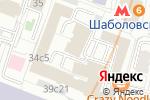 Схема проезда до компании ГлобалСтройИзыскания в Москве