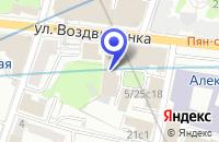 Схема проезда до компании ТОРГОВАЯ КОМПАНИЯ РОСТОВСКАЯ ФИНИФТЬ в Москве