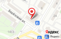 Схема проезда до компании Миткоп в Москве