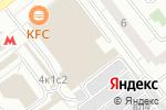 Схема проезда до компании Oki sushi в Москве