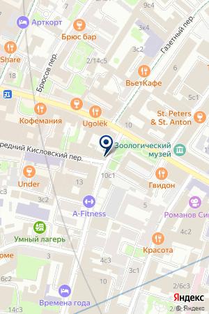 ИНВЕСТИЦИОННАЯ КОМПАНИЯ ВИС-ИНВЕСТ на карте Москвы
