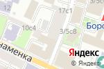 Схема проезда до компании КосмоПринт в Москве