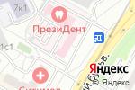Схема проезда до компании ЗДРАВствуйте в Москве