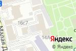 Схема проезда до компании Князев и партнеры в Москве