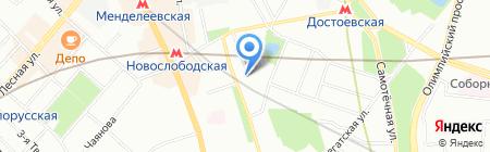 Staff-Up на карте Москвы