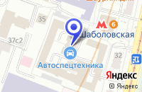 Схема проезда до компании ТФ РИСИТАЛБЕЛ в Москве