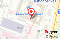 Схема проезда до компании Управляющая Компания «Мтк» в Москве