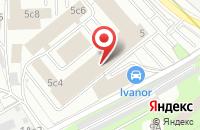 Схема проезда до компании Неоком плюс Гвардия в Москве