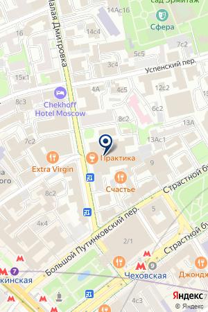 ПАРИС ОПТИКА на карте Дмитрова