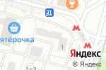 Схема проезда до компании Нотариус Дегтярева Н.К. в Москве