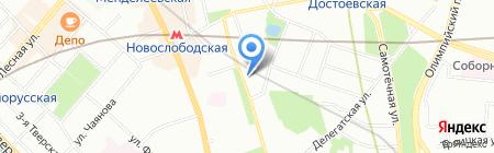 Евролэнд на карте Москвы
