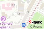 Схема проезда до компании ЭРС-эксклюзив в Москве