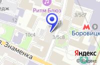 Схема проезда до компании ПРОИЗВОДСТВЕННОЕ ПРЕДПРИЯТИЕ ДАНС в Москве