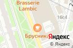 Схема проезда до компании Новослободский в Москве