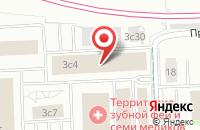 Схема проезда до компании Бурда Интерактив в Москве