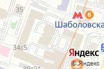 Схема проезда до компании Новая альтернатива в Москве