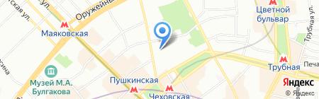 Нанофарм на карте Москвы