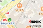 Схема проезда до компании Легис практик в Москве