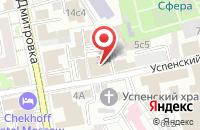 Схема проезда до компании Лада в Москве