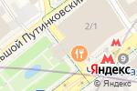 Схема проезда до компании Stage Entertainment в Москве