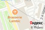 Схема проезда до компании Андент в Москве
