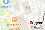 Схема проезда до компании omnikassa в Москве