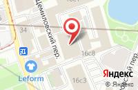 Схема проезда до компании Глянец в Москве