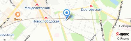 Шант Билдинг на карте Москвы