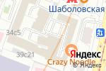 Схема проезда до компании Ambery в Москве