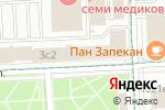 Схема проезда до компании СМУ-5 Мосметростроя в Москве