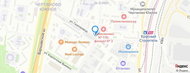 улица Газопровод