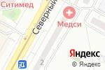 Схема проезда до компании Фаст Финанс в Москве