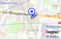 Схема проезда до компании АРХИТЕКТУРНО-СТРОИТЕЛЬНАЯ ФИРМА ПРОЕКТ МЕГАНОМ в Москве