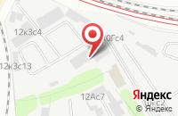 Схема проезда до компании Метпром в Москве