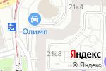 Схема проезда до компании Донской Олимп в Москве