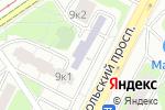 Схема проезда до компании Адажио в Москве