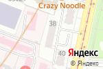 Схема проезда до компании ИРАВУНК в Москве