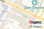 Схема проезда до компании Alapela в Москве