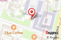 Схема проезда до компании Творческое Объединение Риск-Кинокомпания в Москве