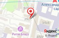 Схема проезда до компании Сан Паблишинг в Москве