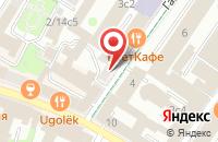 Схема проезда до компании Викмо в Москве