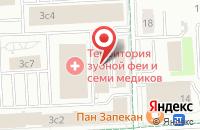 Схема проезда до компании Смартпикселс в Москве