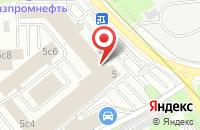 Схема проезда до компании Новидон Рус в Москве