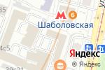 Схема проезда до компании Элад-Гермес в Москве
