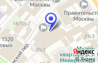 Схема проезда до компании БИЗНЕС-ЦЕНТР УСАДЬБА-ЦЕНТР в Москве
