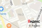 Схема проезда до компании ДЮРР Системс РУС в Москве