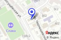 Схема проезда до компании ПТФ ЦЕНТРОТЕХСЕРВИС в Москве
