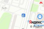 Схема проезда до компании Киоск по ремонту часов в Москве