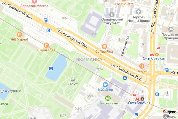 Ремонт телевизоров Район Якиманка на яндекс карте